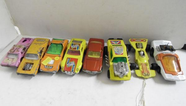 Collection of 8 vintage Matchbox Speed King's cars (circa 1970s)