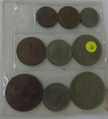 1953 Set of coins in plastic packet