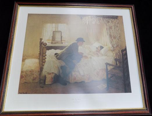 Framed print 'The First Born' by Frederick Ellwell