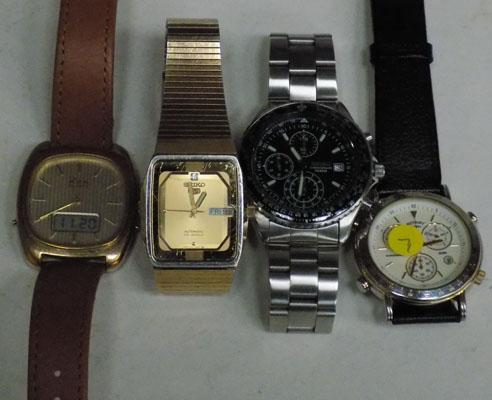 Rotary and Avia vintage watches