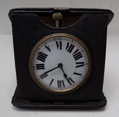 Antique travelling case clock (face needs attention)