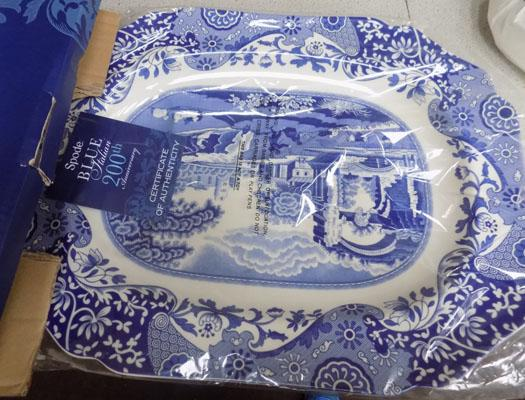Spode platter 200th Edition-new
