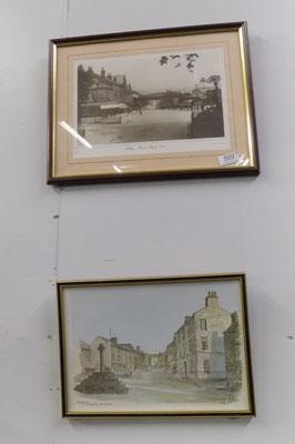 2x Pictures-Ilkley & Askrigg