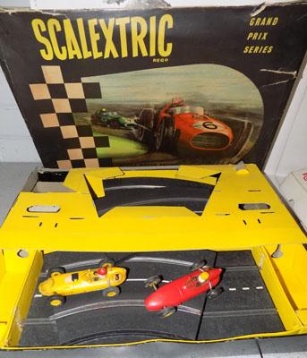 Various Scalextric with cars & track etc...