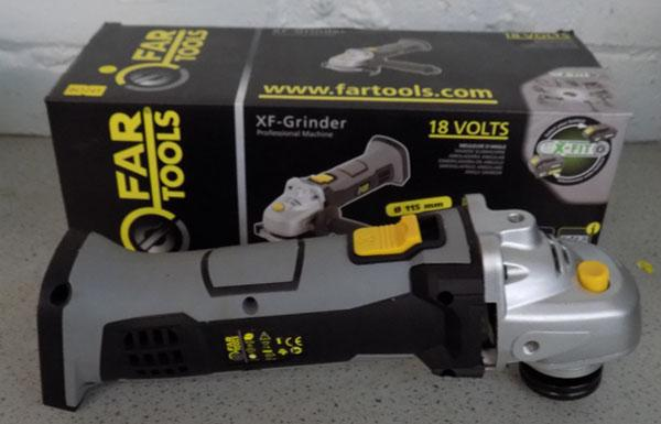 Fartools Grinder - requires battery - not supplied - part of a multi tool