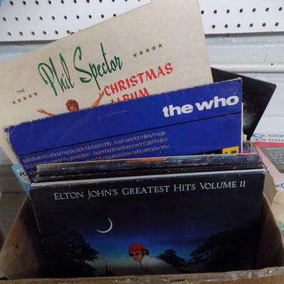 Vinyl LP's incl. The Who, Kinks, Westwellies, ELO, Tss, Oddities