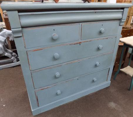 large 2 on 3 chest of drawers