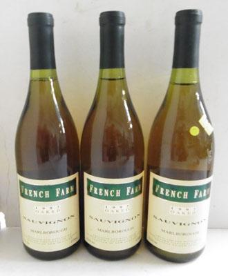 3 bottles of vintage collectors wine - 1992, New England Sauvignon Blanc