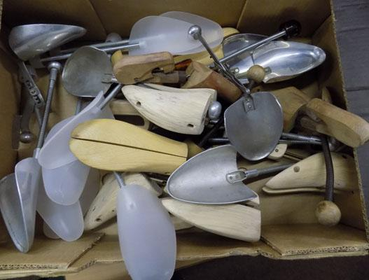 Collection of shoe trees & stretchers