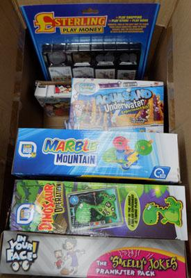 Box of mixed items, incl. Marble Mountain