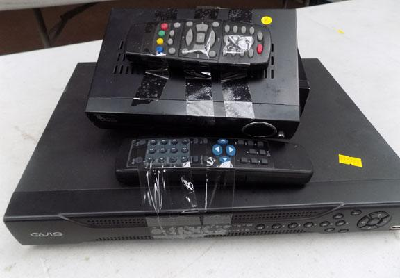 2 freeview and CCTV receiver