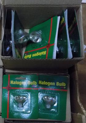 10x10 Boxes new halogen lights