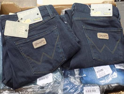 New jeans-Wranglers & others