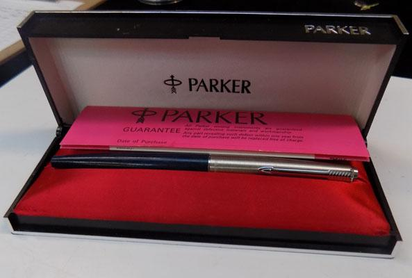 Parker pen in box