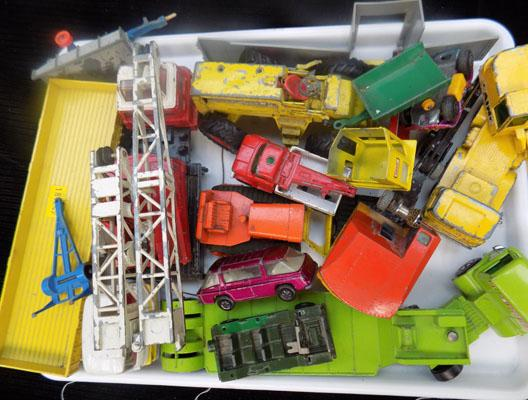 Mixed tray of Diecast