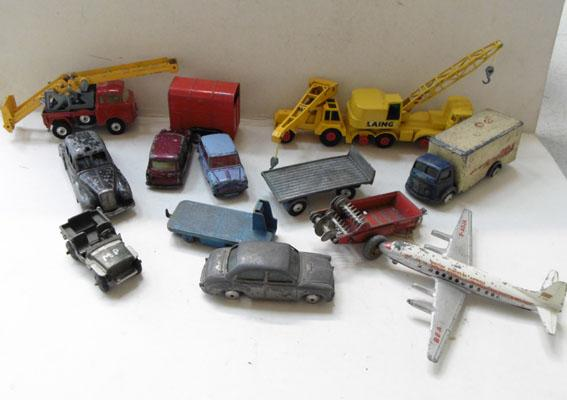 Collection of 1960's Dinky and Corgi