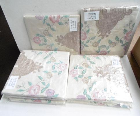 Box of 7 pairs of pillow cases-new
