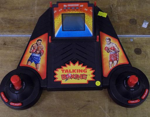 Rare vintage talking boxing game W/O