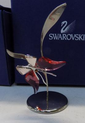 Swarovski Butterfly on stand
