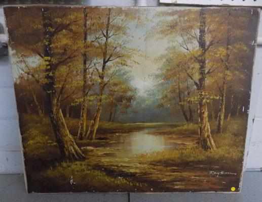 Oil painting-Rayson