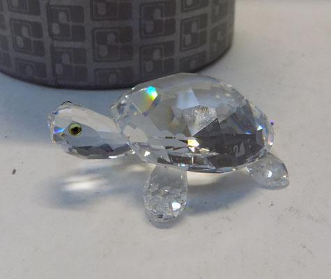 Swarovski medium turtle
