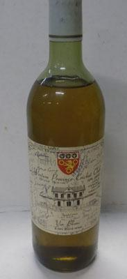 Western Province cricket club wine with autographed label