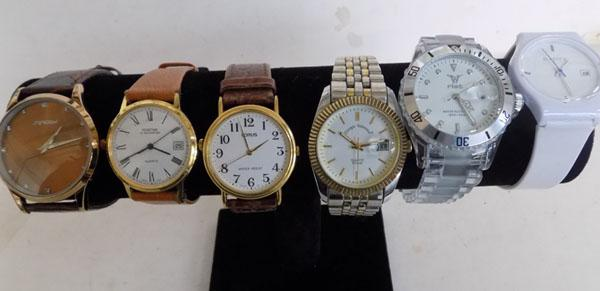 Selection of fashion watches