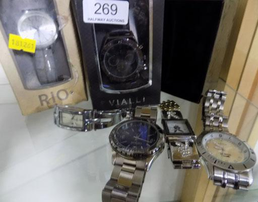Selection of gents watches