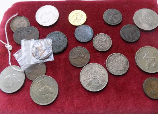 Selection of coins
