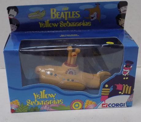 Beatles Corgi Yellow Submarine