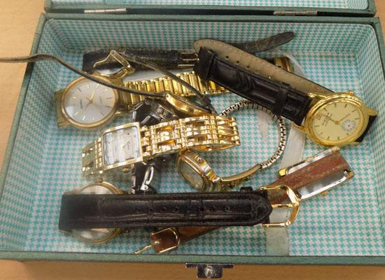 Collection of vintage watches