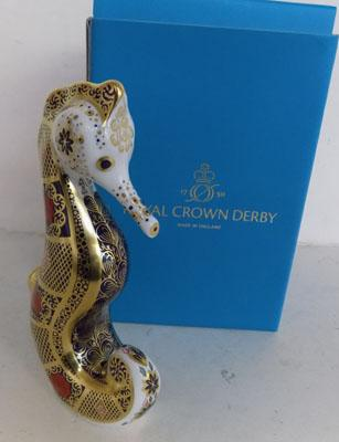 Royal Crown Derby Seahorse