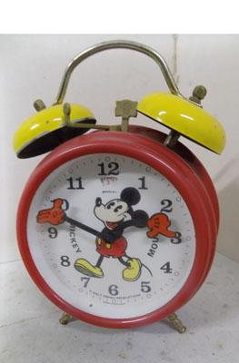 Mickey Mouse vintage clock
