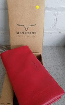 New womens luxury Maverick leather cowhide wallet