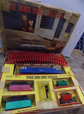 Triang blue flier big big train set