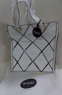 White Nali hand bag