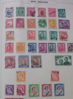 Album of stamps