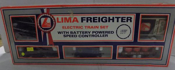 Lima freighter train set