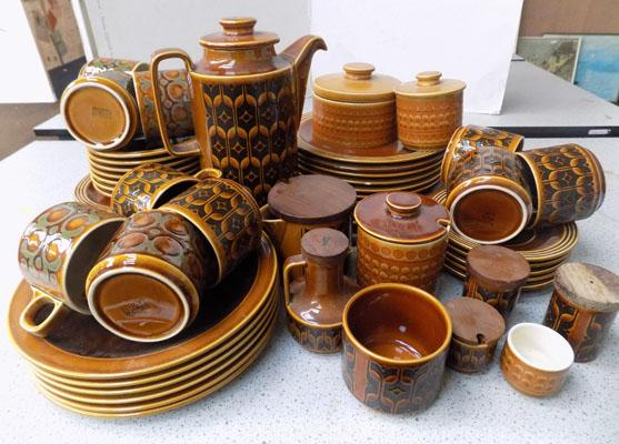 Selection of mixed Hornsea pottery