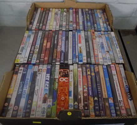 Box of DVD 's