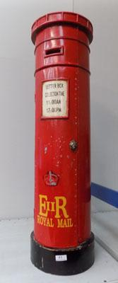 Large tin Post box