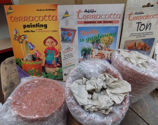 New terracotta painting kit