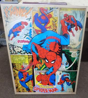 Large Amazing Spiderman canvas
