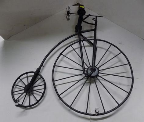 Sweep on Penny Farthing wall mount