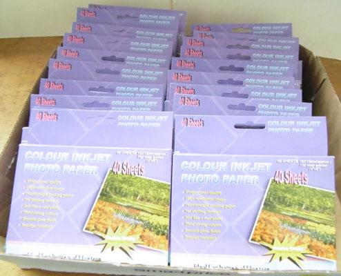 20 Packs of ink jet photo paper