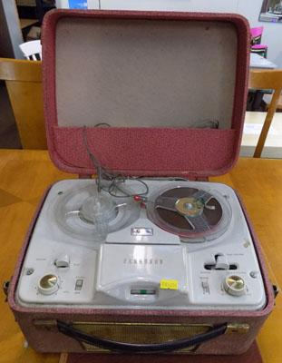 Ferguson reel to reel tape recorder