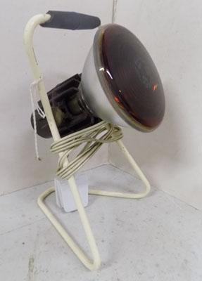 Vintage infra red lamp