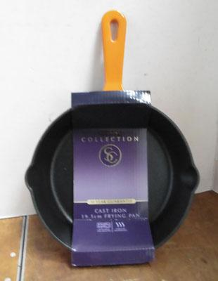 New cast iron frying pan