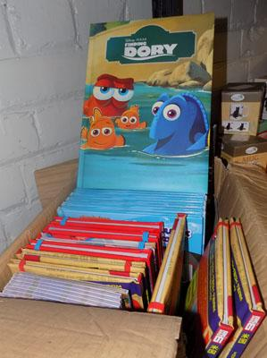 Box of new kids books