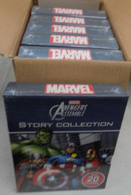 6x Marvel story collections